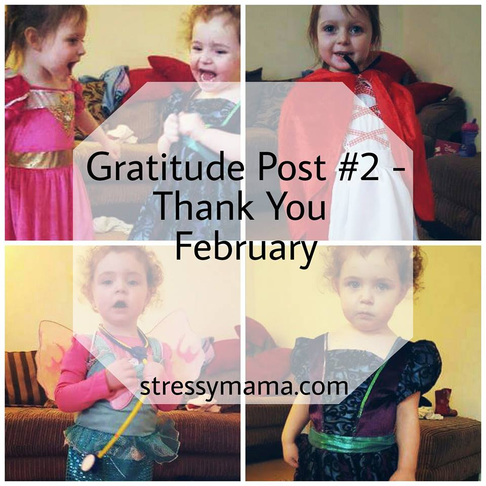 Gratitude Post #2 - Thank You February