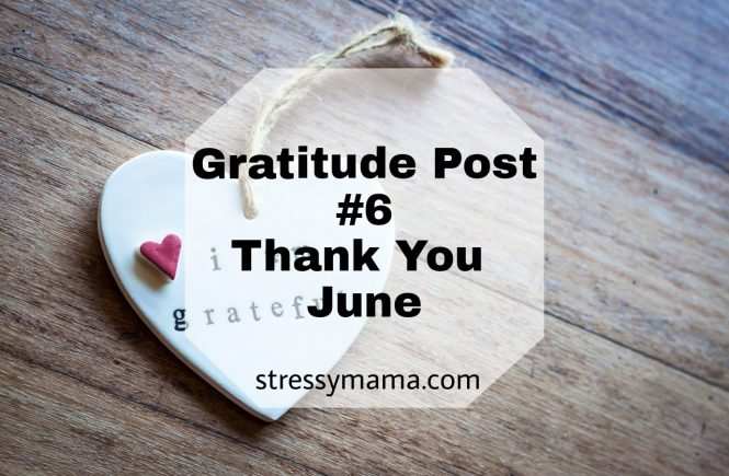 Gratitude Post #6 - Thank you June