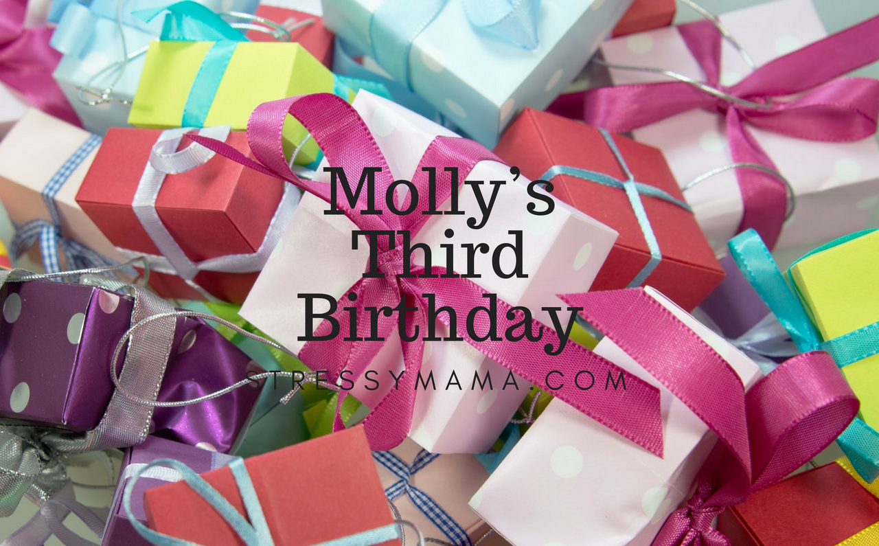 Molly's Third Birthday