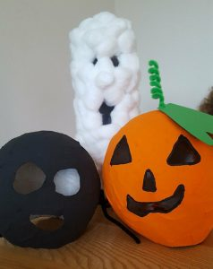 Paper Mache Halloween Decorations