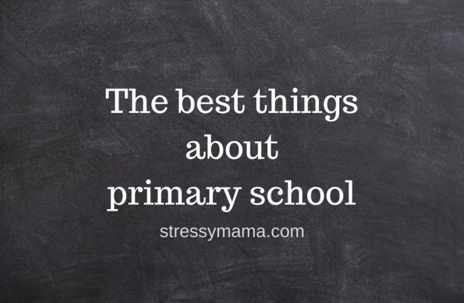 The best things about primary school